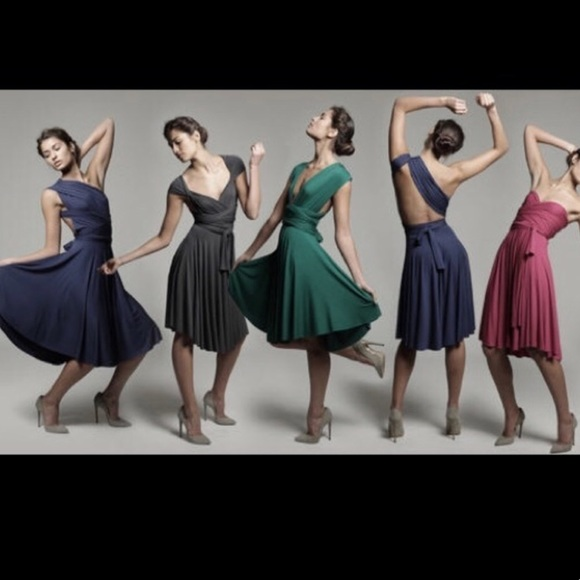 32fd45995a9 NWT Tart Infinity Convertible Midi Dress